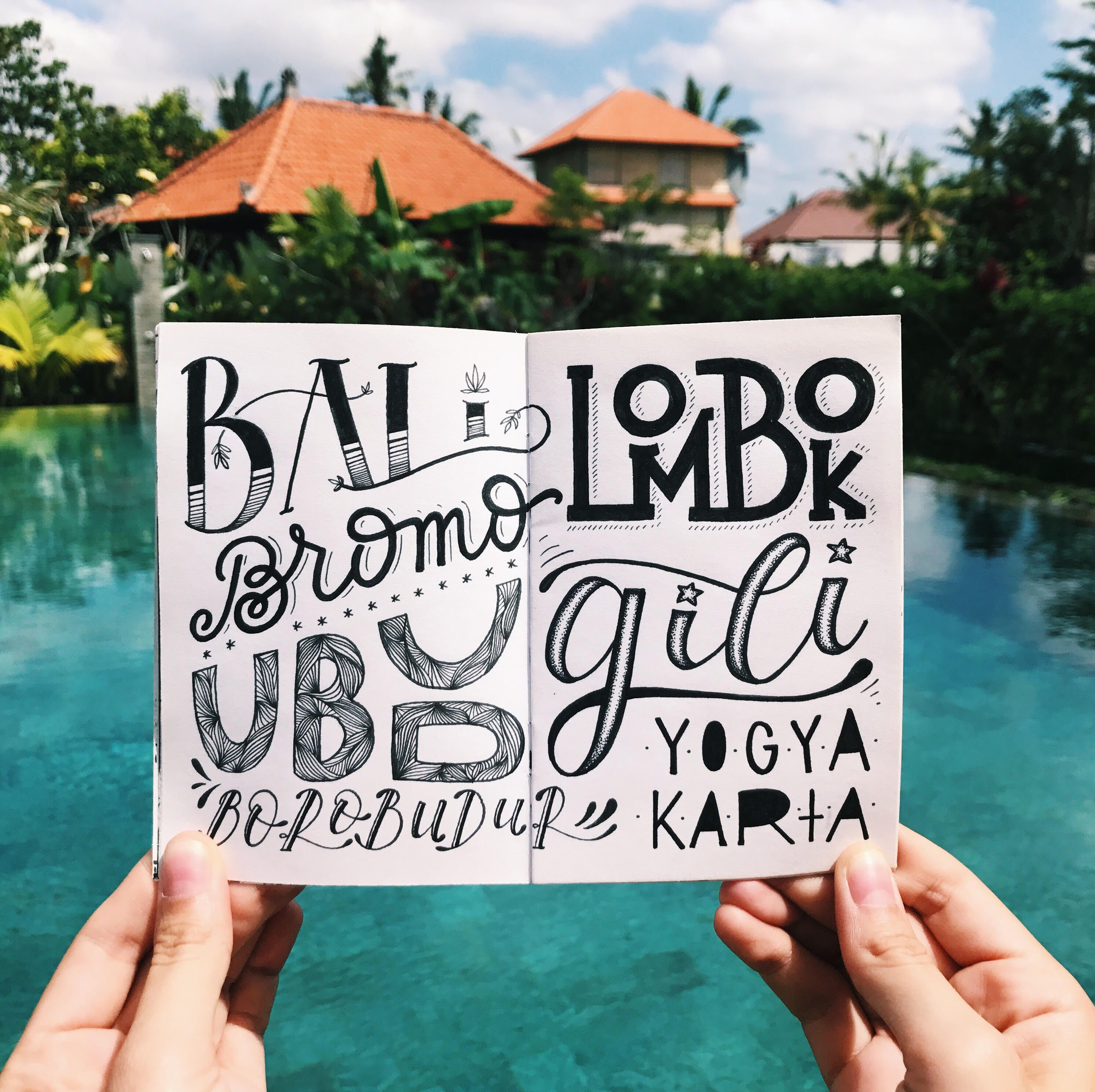 indonesia-lettering